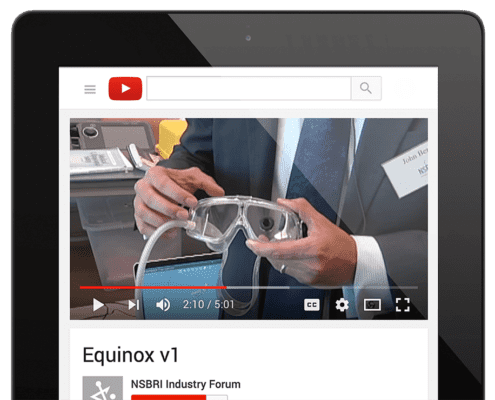 iPad–youTube NSBRI Industry Forum